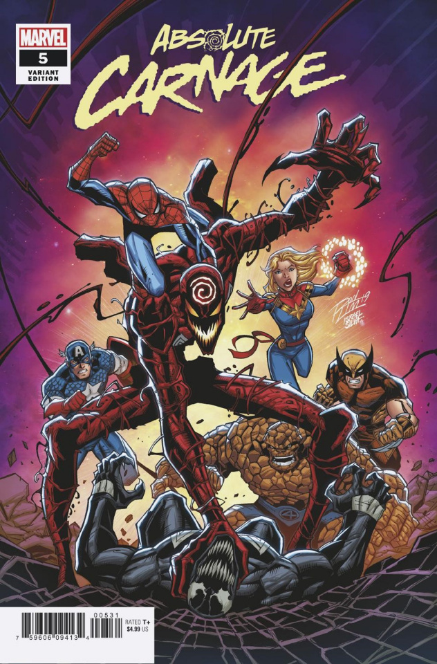 Absolute Carnage #5 (Ron Lim Cover)