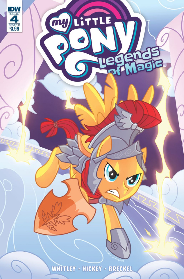 My Little Pony: Legends of Magic #4 (Sterling Cover)