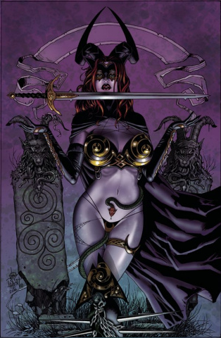 Tarot: Witch of the Black Rose #99