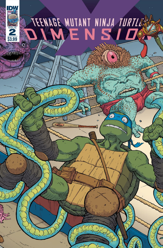 Teenage Mutant Ninja Turtles: Dimension X #2 (Pitarra Cover)