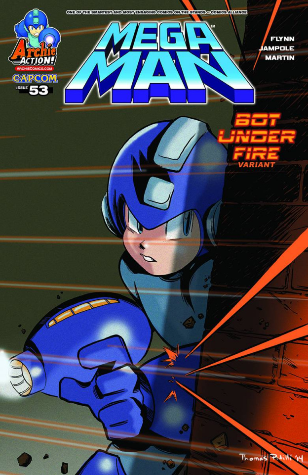 Mega Man #53 (Pitilli Cover)