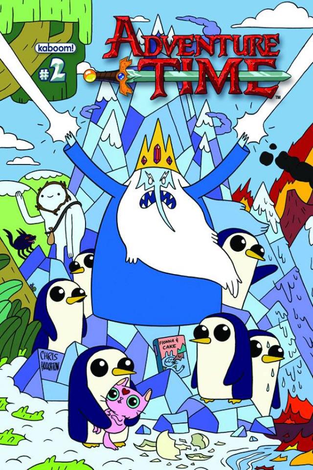 Adventure Time #2 (New Printing)