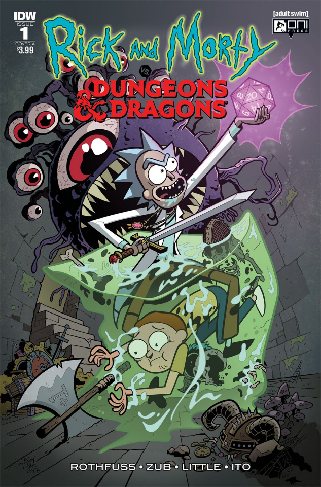 Rick and Morty vs. Dungeons & Dragons #1 (Little Cover)