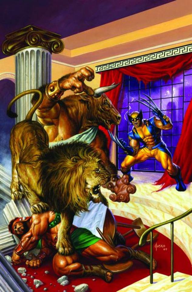 Wolverine/Hercules: Myths, Monsters & Mutants #2