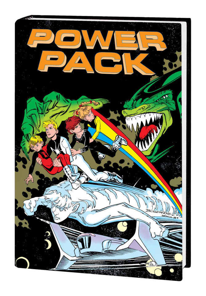 Power Pack Classic Vol. 2 (Omnibus Bogdanove Cover)
