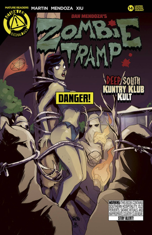 Zombie Tramp #14 (Risque Cover)