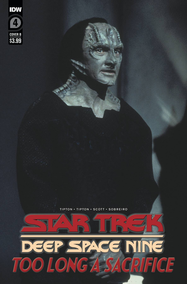 Star Trek: Deep Space Nine - Too Long A Sacrifice #4 (Photo Cover)