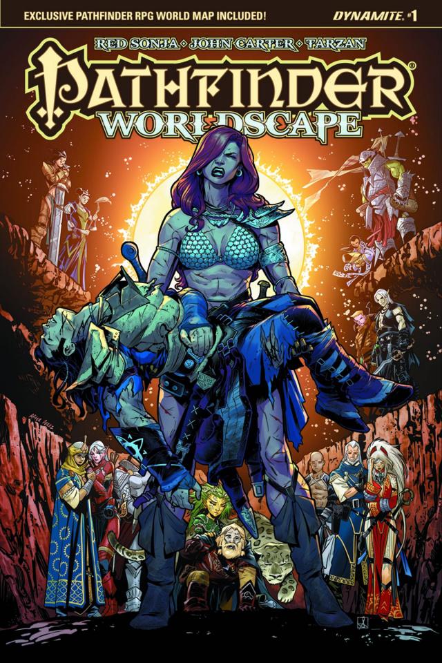 Pathfinder: Worldscape #1 (Izaakse Cover)