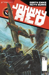 Johnny Red #7 (Burns Cover)