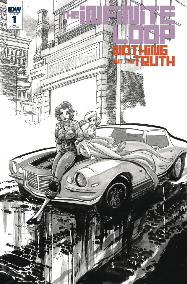 The Infinite Loop: Nothing But the Truth #1 (10 Copy Cover)