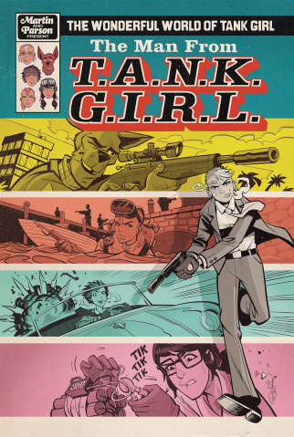 The Wonderful World of Tank Girl #3 (Parson Cover)