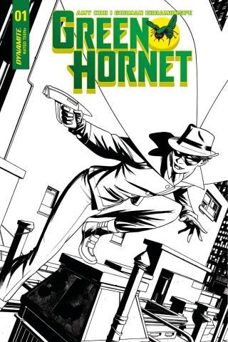 Green Hornet #1 (30 Copy McKone B&W Cover)