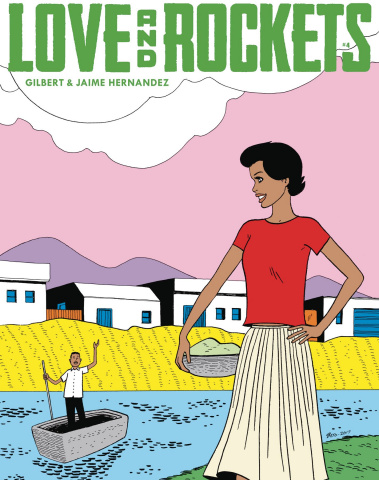 Love and Rockets Magazine #4
