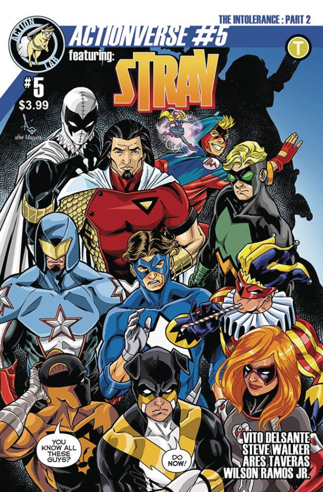 Actionverse #5 (Stray Cover)
