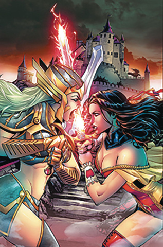Grimm Fairy Tales #24 (Spay Cover)