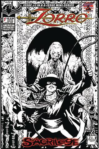 Zorro: Sacrilege #1 (Visions of Zorro Cover)