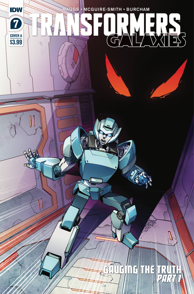 The Transformers: Galaxies #7 (Miyao Cover)