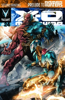 X-O Manowar #24 (2nd Printing)