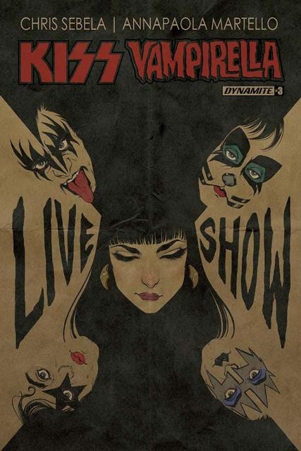 KISS / Vampirella #3 (Ihde Cover)