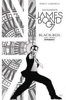 James Bond: Black Box #1 (40 Copy Cassaday B&W Cover)