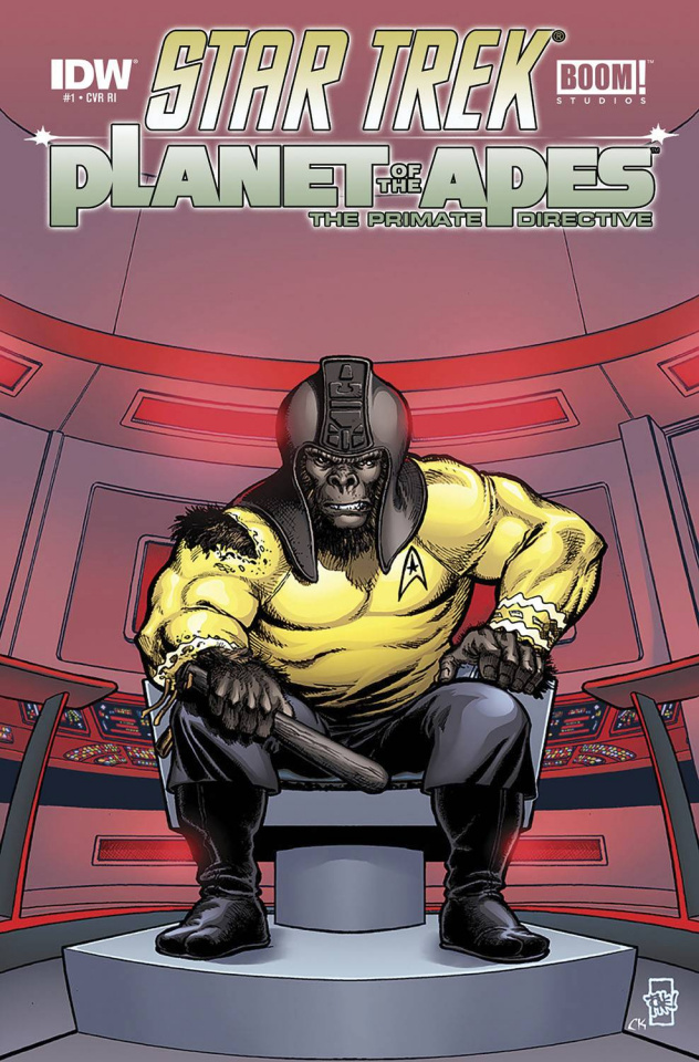 Star Trek / Planet of the Apes #1 (10 Copy Cover)