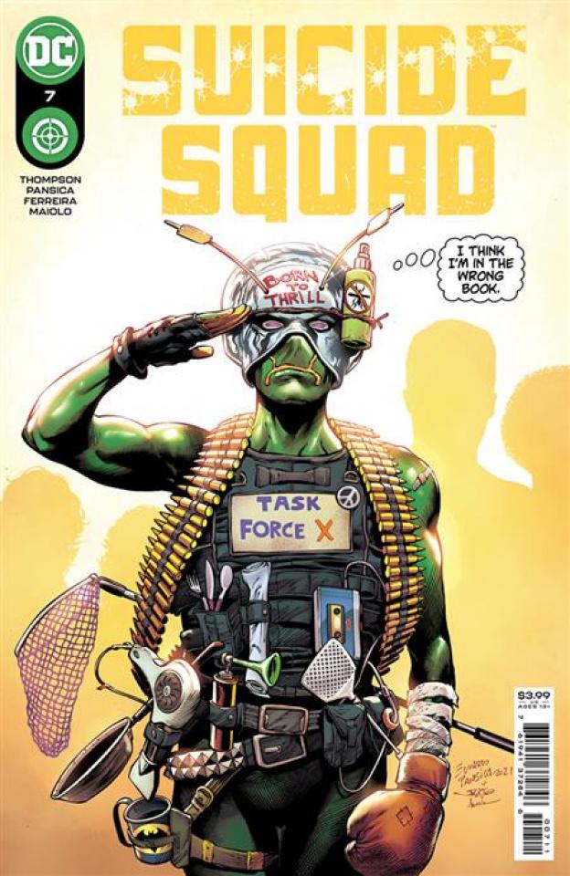 Suicide Squad #7 (Eduardo Pansica Cover)