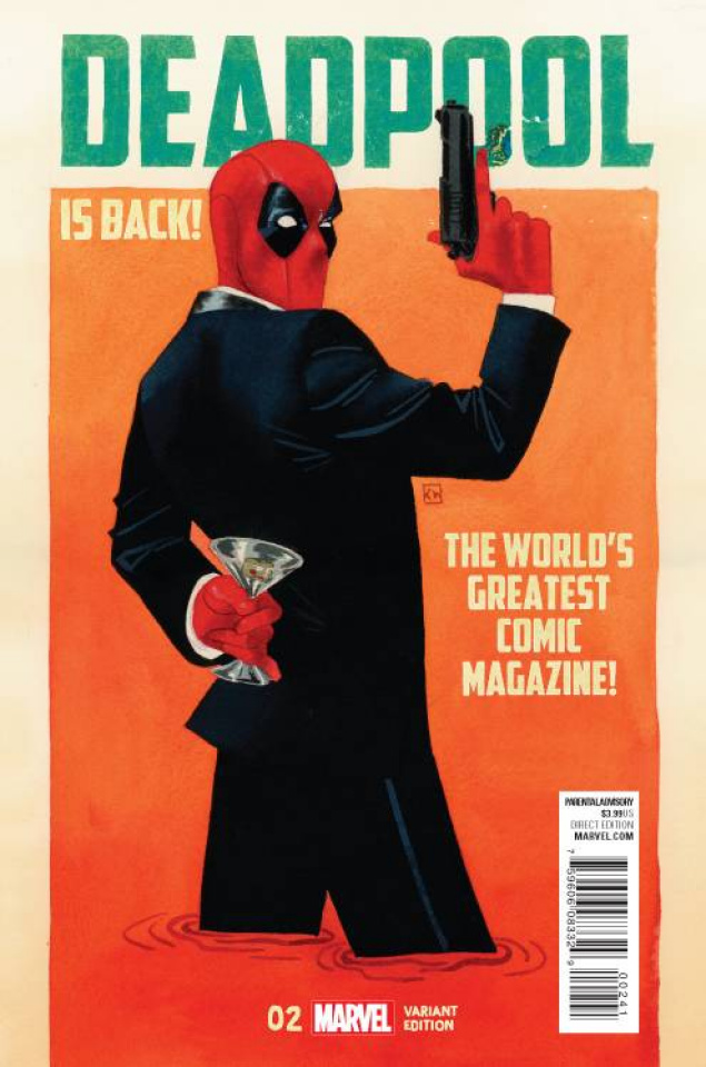 Deadpool #2 (Wada Cover)