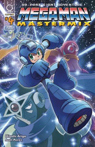 Mega Man: Mastermix #4 (Ariga Cover)