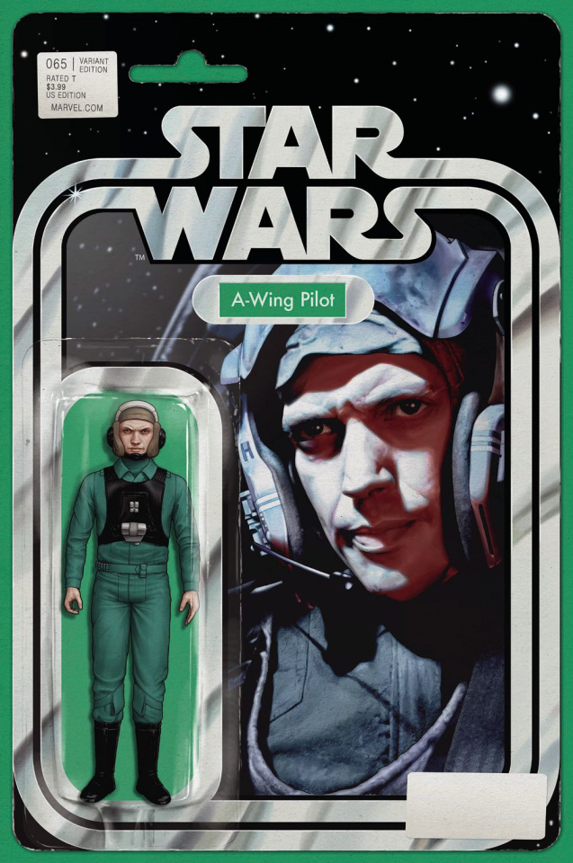 Star Wars #65 (Christopher Action Figure Cover)