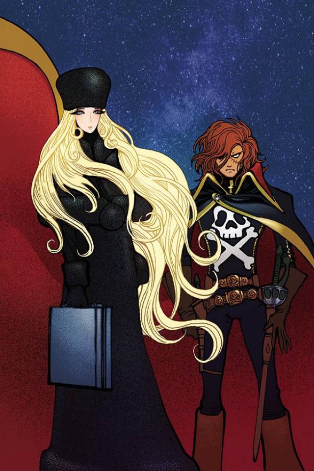 Space Pirate: Captain Harlock #4 (30 Copy Moritat Virgin Cover)