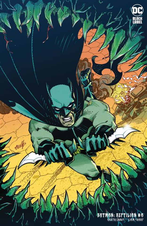 Batman: Reptilian #6 (Cully Hamner Cover)