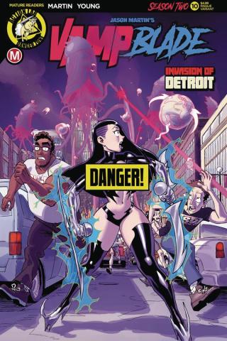 Vampblade, Season Two #10 (Winston Young Risque Cover)