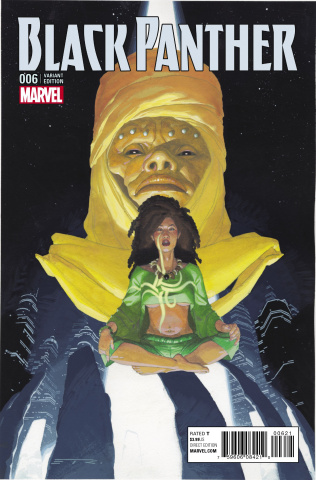 Black Panther #6 (Ribic Connecting Cover)
