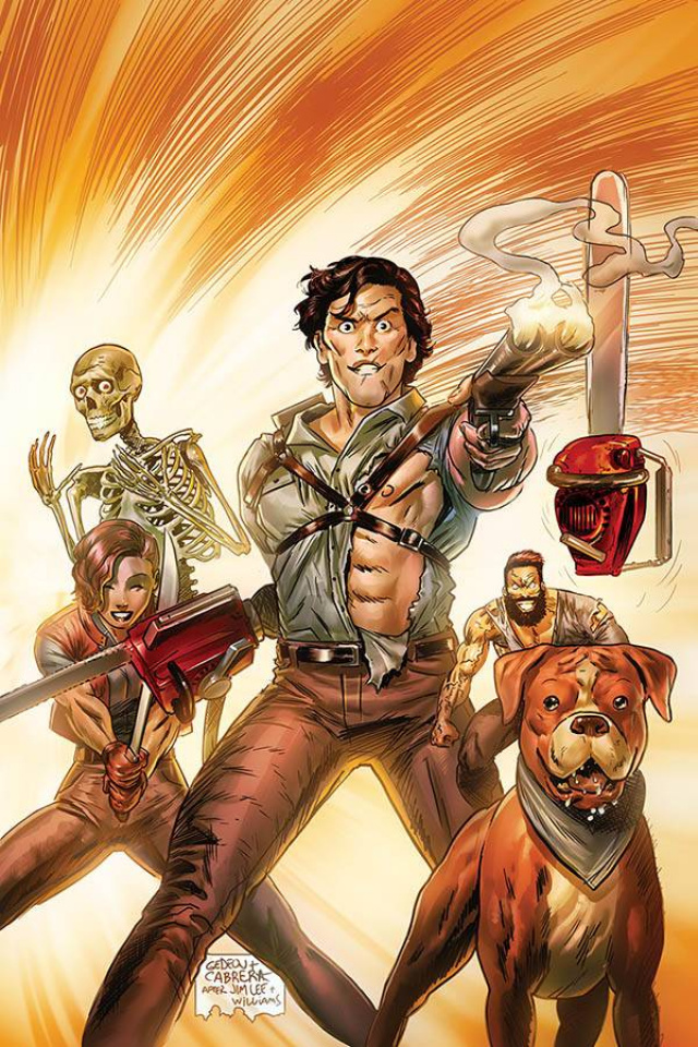 Death to the Army of Darkness #4 (15 Copy Gedeon Homage Virgin Cover)