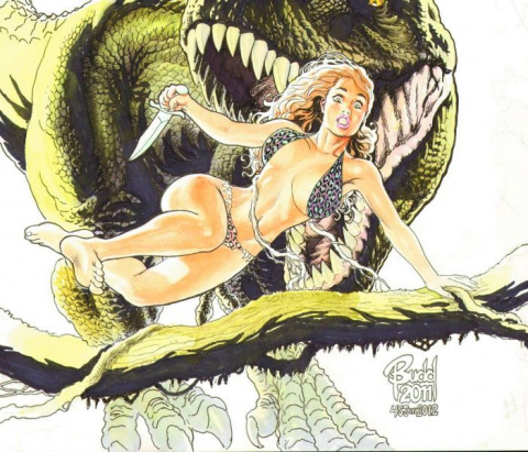 Cavewoman: Mutation #2 (Budd Root Special Edition)