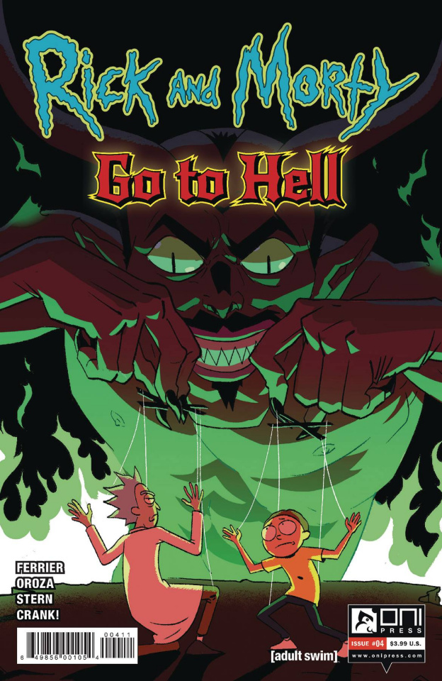 Rick and Morty Go to Hell #4 (Oroza Cover)