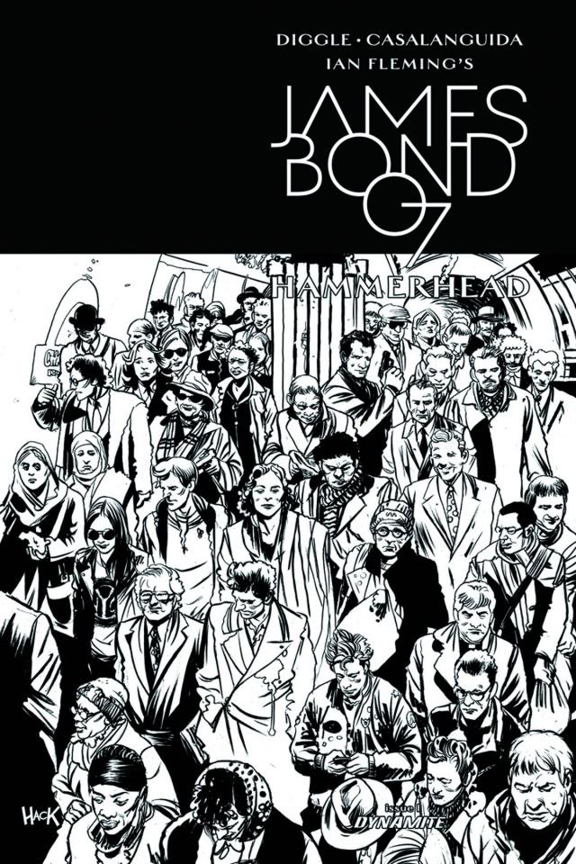 James Bond: Hammerhead #1 (10 Copy Hack Cover)