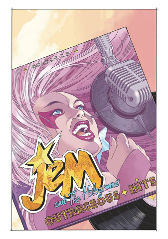 Jem and The Holograms: IDW 2020 (Keenan Cover)