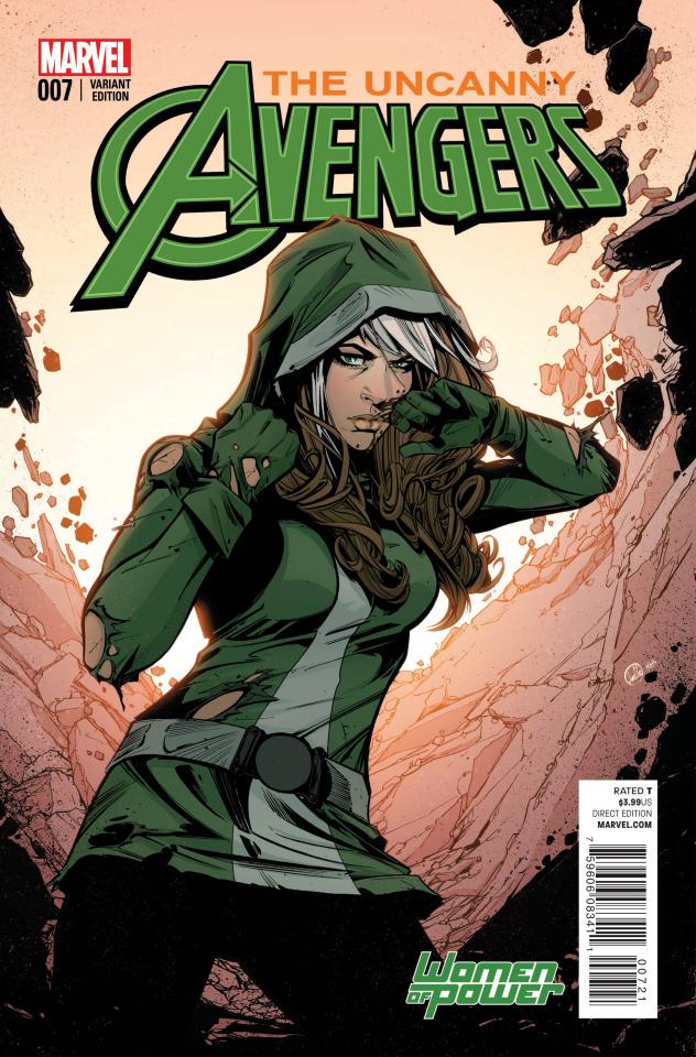 Uncanny Avengers #7 (Jones Cover)
