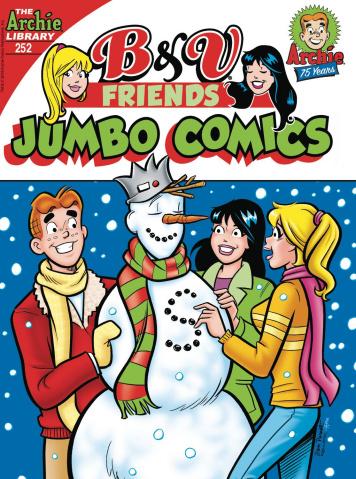 B & V Friends Jumbo Comics Digest #252