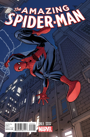 The Amazing Spider-Man #20.1 (Bradshaw Cover)