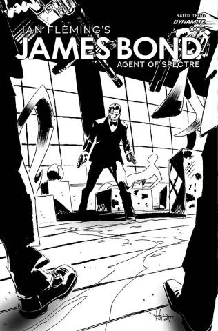 James Bond: Agent of SPECTRE #5 (20 Copy Casalanguida Cover)