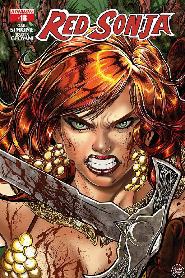 Red Sonja #18 (Melo Cover)