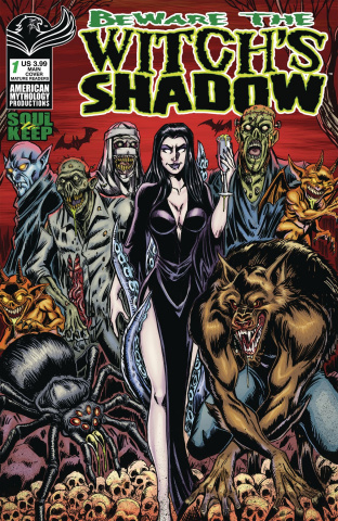 Beware the Witch's Shadow: Soul to Keep #1 (Calzada Cover)