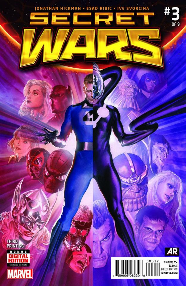 Secret Wars #3 (Ross 3rd Printing)