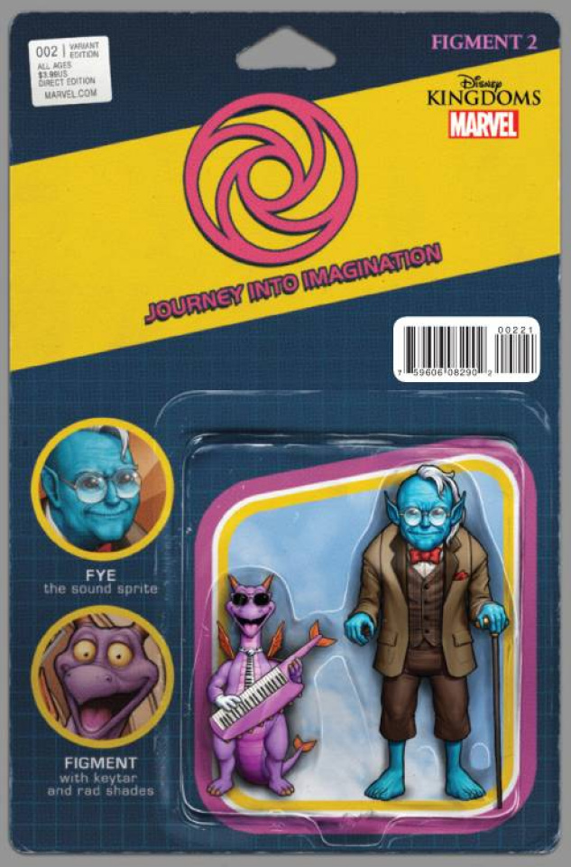 Figment 2 #2 (Christopher Action Figure Cover)