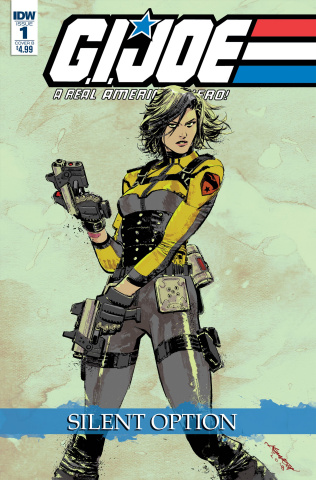 G.I. Joe: A Real American Hero - Silent Option #1 (Loh Cover)
