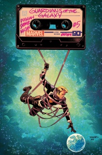 All-New Guardians of the Galaxy #5 (Samnee Cover)