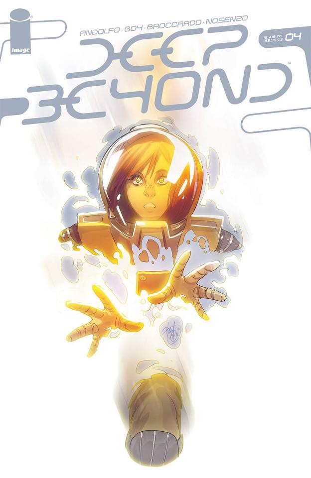 Deep Beyond #4 (Andolfo Cover)