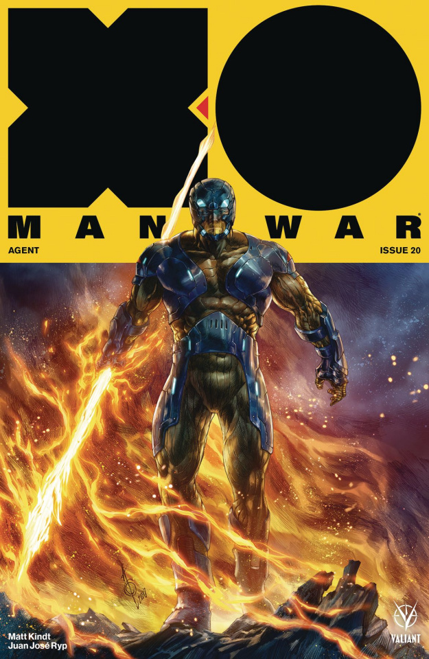 X-O Manowar #20 (Quah Cover)
